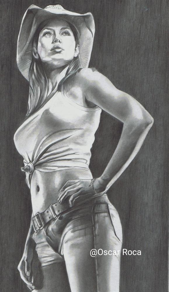 Jessica Biel by oscar